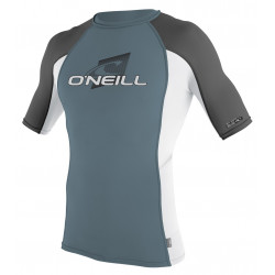 O'Neill Heren UV shirt Preformance korte mouw Dusty Blue / White