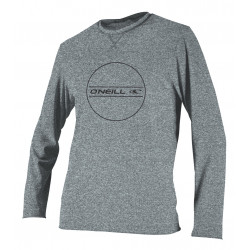 O'Neill Boys UV werend shirt lange mouw Cool Grey