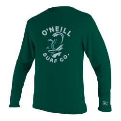 O'Neill Kids UV shirt lange mouw Deep Green