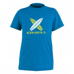 O'Neill Kids UV shirt korte mouw Brite Blue