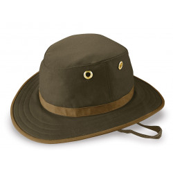 Tilley Outback Waxed Cotton Hat Olive