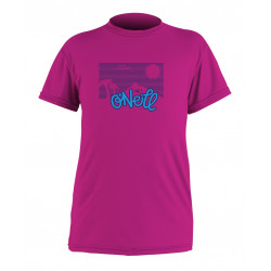 O'Neill UV Shirt Kids korte mouw Pink Watermelon