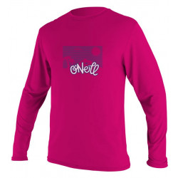 O'Neill UV Shirt Kids lange mouw Pink Watermelon
