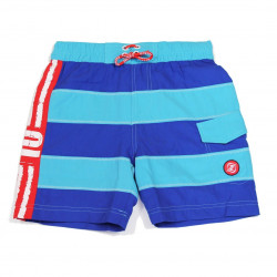 Zee & Zo Boardshort Four eyed fish multi