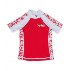 Squids Sunwear UV zwemshirt k/m Pink Power