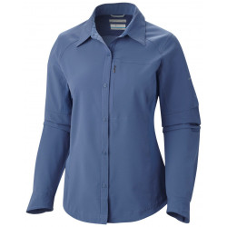 Columbia Dames UV blouse Silver Ridge Bluebell
