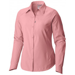 Columbia Dames UV blouse Silver Ridge Rosewater