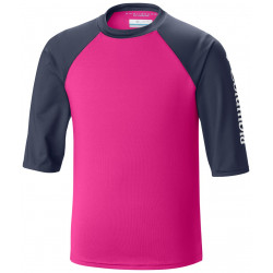 Columbia Kids UV shirt Breaker 3/4 mouw Pink