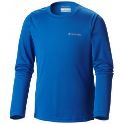 Columbia Junior UV shirt Long Sleeve Super Blue