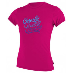 O'Neill Girls UV shirt Berry