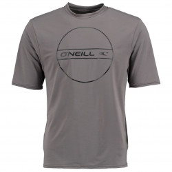 O'Neill Boys UV Shirt Korte Mouw Antracite