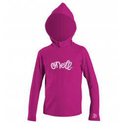 O'Neill Kids UV Beach Hoodie Girls Berry