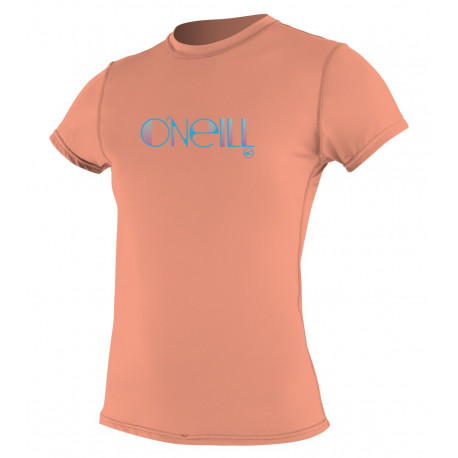 O'Neill Dames UV shirt korte mouw Grapefruit