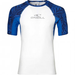 O'Neill Heren UV Shirt Korte Mouw Super White