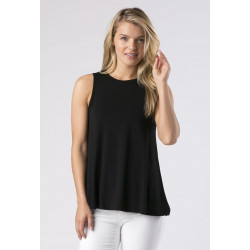 Mott50 UV top mouwloss Tory Black