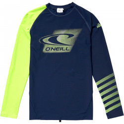O'Neill Boys UV Shirt Lange Mouw Ink Blue