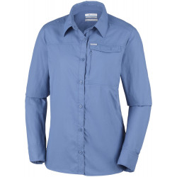 Columbia Dames UV blouse Silver Ridge Blue Dusk
