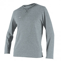 O'Neill Heren UV shirt Hybrid lange mouw Cool Grey