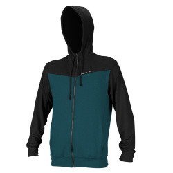 O'Neill Heren UV Hybrid Zip Hoodie Teal / Black