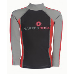 Snapper Rock UV zwemshirt lange mouw Grey Slate