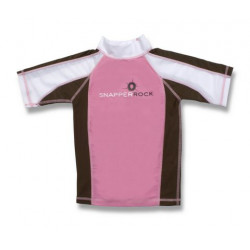 Snapper Rock UV zwemshirt Pink Choc