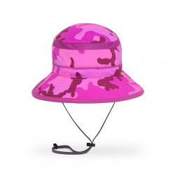 Sunday Afternoons Kids UV Beschermende Fun Bucket Pink Camo