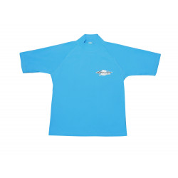 Stingray heren of dames UV surf shirt korte mouwen- blauw